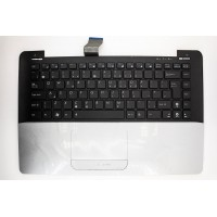Клавиатура Asus Zenbook UX30, UX30S с серым топкейсом , 11748 (D-5-4)