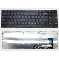 Клавиатура Lenovo IdeaPad 100-15 черная, 11884 014609 (A-3-1)