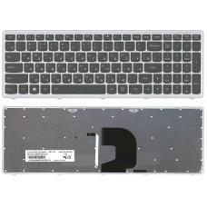 Клавиатура Lenovo Z500 с подсветкой черная, 11830 008160 (A-3-7)