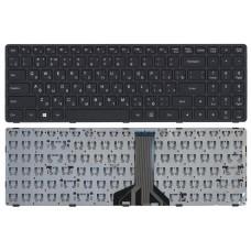 Клавиатура Lenovo Ideapad 300-15IBR 300-15ISK 300-17ISK 100-15IBD черная, 12186 057523 (A-3-5)