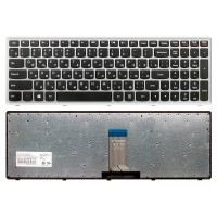 Клавиатура Lenovo IdeaPad U510, Z710 черная, 11537 005771 (A-3-8)