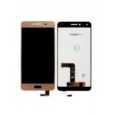 Модуль Huawei Honor 5A (LYO-L21), Y5 II (CUN-U29) в сборе (матрица + тачскрин) золотой