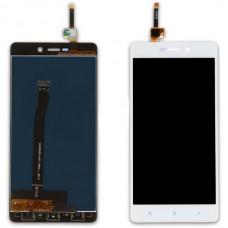 Модуль Xiaomi Redmi 3, 3S, 3 Pro (матрица + тачскрин) белый