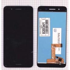 Модуль Huawei GR3 в сборе (матрица + тачскрин) черный