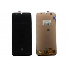 Модуль Samsung A505F (A50) черный OLED (матрица + тачскрин)
