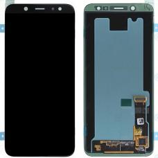 Модуль Samsung Galaxy A6 (2018) A600F черный оригинал (матрица + тачскрин)