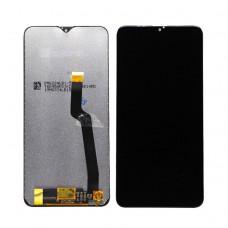 Модуль Samsung A105F (A10) черный Оригинал (матрица + тачскрин с рамкой)