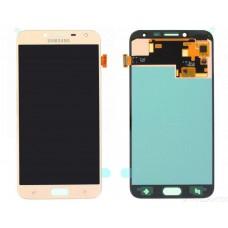 Модуль Samsung J400F (J4 2018) золотой OLED (матрица + тачскрин)