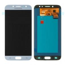 Модуль Samsung J730F (J7 2017) голубой OLED (матрица + тачскрин)