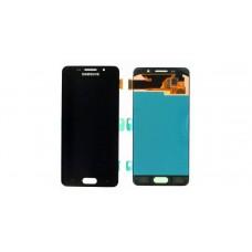 Модуль Samsung A510F (A5 2016) черный OLED (матрица + тачскрин)
