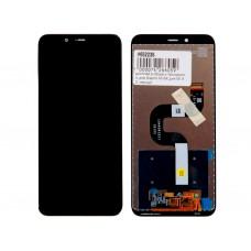 Модуль Xiaomi Mi A2, Mi 6X (матрица + тачскрин) черный