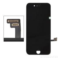 LCD дисплей для Apple iPhone 8 с рамкой крепления, 1-я категория, класс AAA (черный)