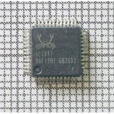 Звуковая карта Realtek ALC887 (887) QFP-48