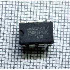 Память Bios W25Q64FVAIG DIP W25Q64 DIP8 25Q64 DIP-8 25Q64FVAIG