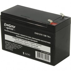 Купить аккумулятор для ИБП 12V 7Ah Exegate EXS1270
