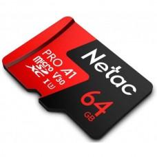 Карта памяти Модуль Micro SDXC 64 GB Netac P500 Extreme ProNT02P500PRO-064G-S (no adapter)