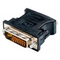Переходник DVI-I - VGA m-f, 5bites <VD1028G>, черный